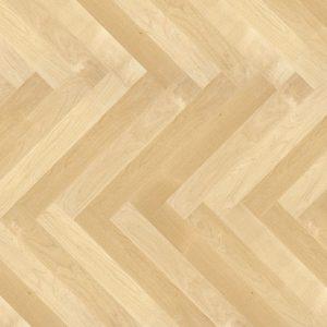 Lacquered-Oak Laminate Herringbone Floors